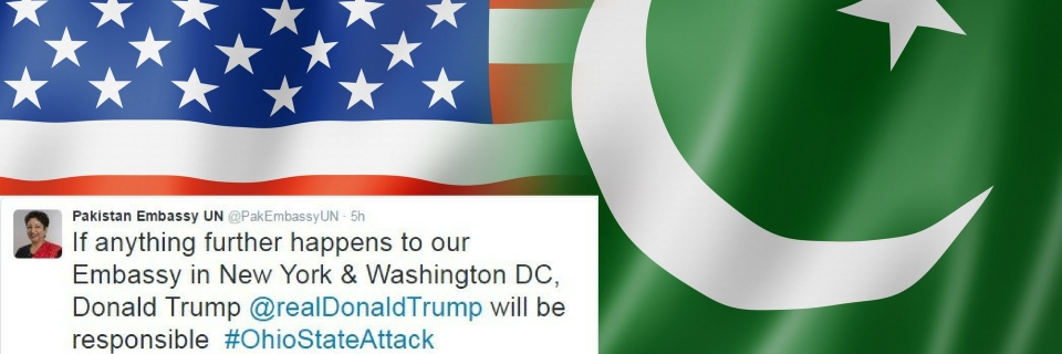 Fake Twitter Accounts of Pak Diplomatic Missions in US Cause