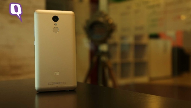 This is the Redmi Note 3. (Photo: <b>The Quint</b>)