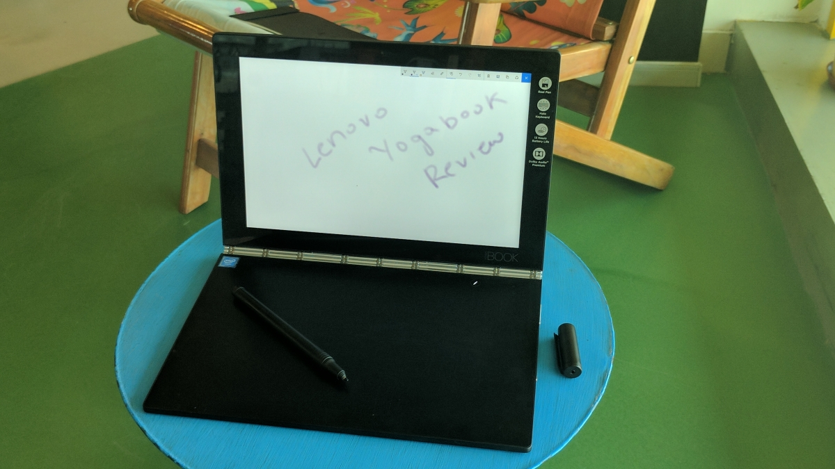 Review: Lenovo Yoga Book Is a Magic Wand for the Creative