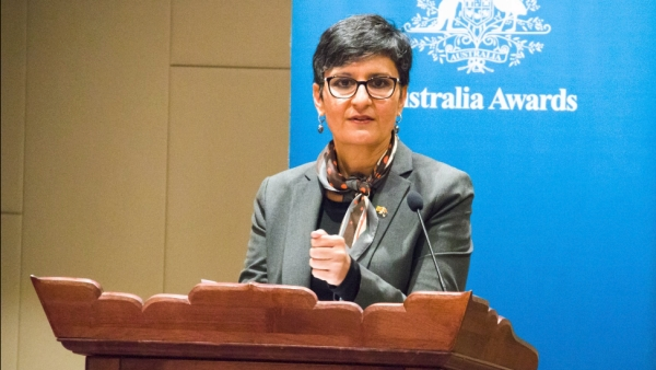 "Harinder Sidhu, Australian High Commissioner to India. (Photo Courtesy: Twitter/<a href=""https://twitter.com/AusHCIndia"">@AusHCIndia</a>)"