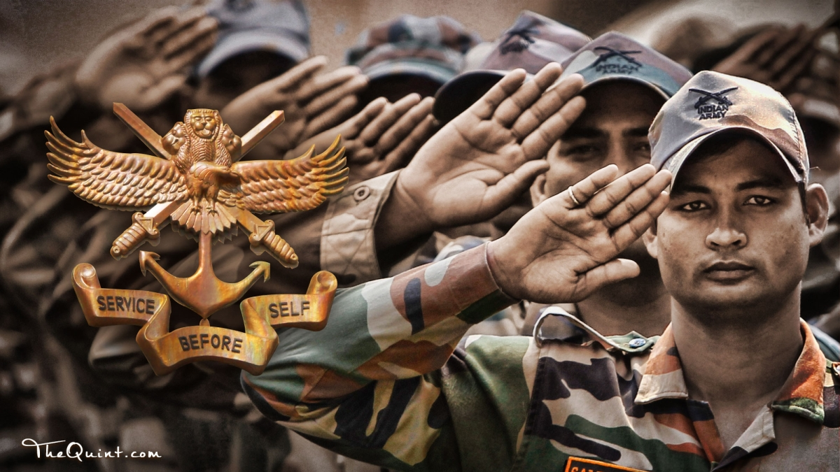 The Indian Army stands for discipline and rigour.