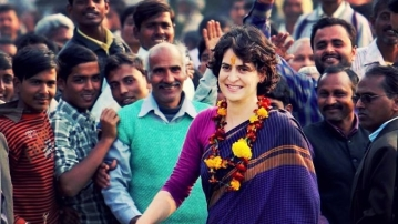 Priyanka Gandhi has been digging into the archives and posting photographs on her Facebook page.