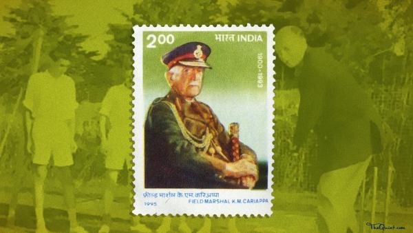 Field Marshal KM Cariappa.