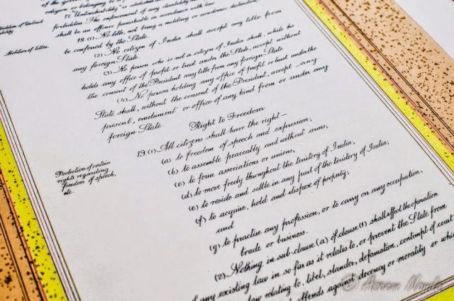 """A picture of the original manuscript. (Photo courtesy: <a href=""""https://plus.google.com/118092972326422169139/posts/bbSY7eV7TmX?sfc=false"""">Prem Foundation</a>)"""