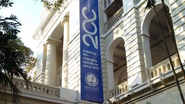 An anti-establishment sentiment has been Presidency College's sine qua non, ever since its inception in January 1817 as Hindoo College. (Photo: Chandan Nandy/<b>The Quint</b>)