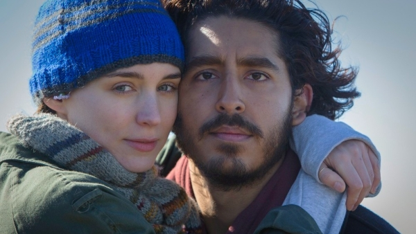 Rooney Mara and Dev Patel in a still from the film <i>Lion</i>.