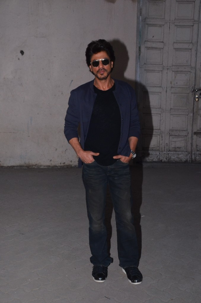 Shah Rukh Khan promotes his upcoming release, <i>Raees</i>. (Photo: Yogen Shah)