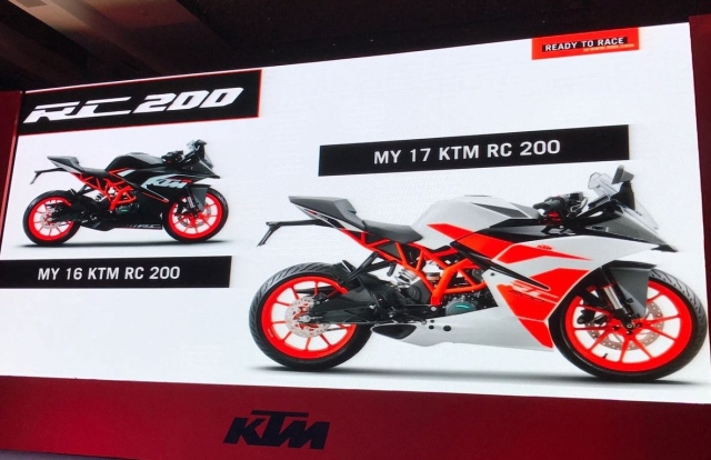 KTM RC 200 gets minor updates. (Photo Courtesy: BikeDekho)