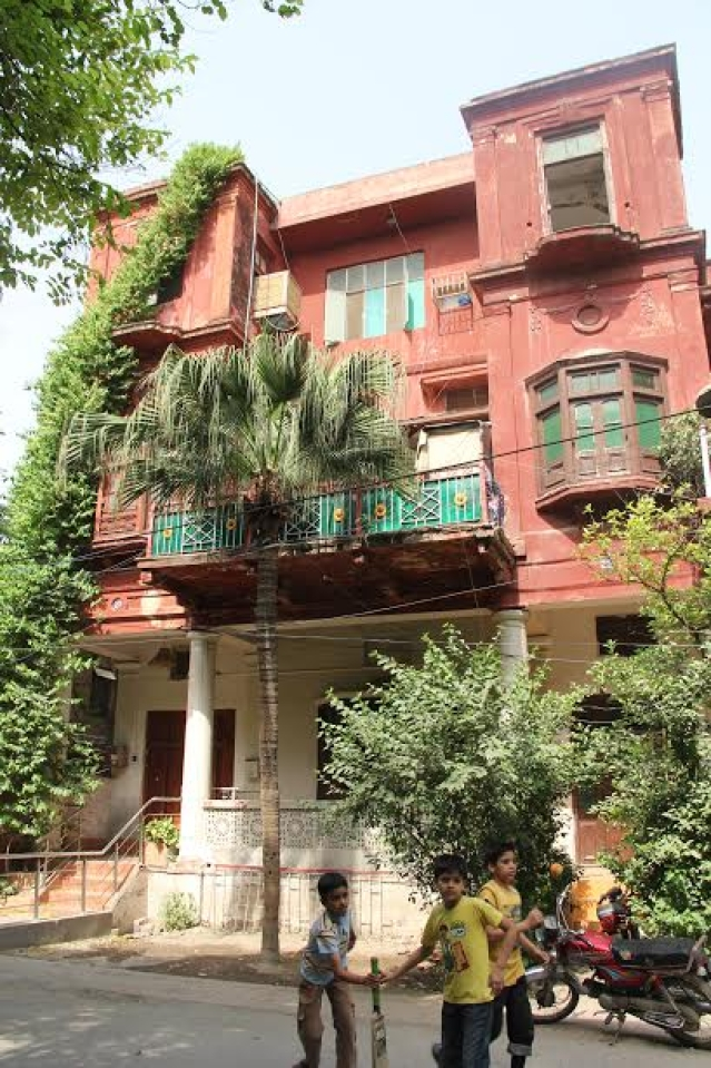 Sher-Gil's Lahore house.