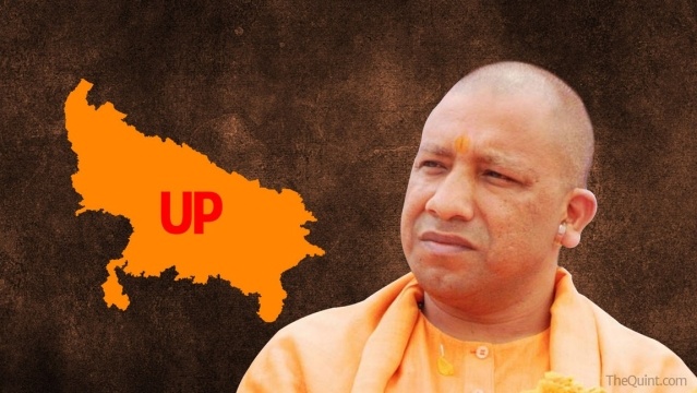 Yogi Adityanath has, on several occasions, tried to portray himself as the CM candidate. (Photo: <b>The Quint</b>)