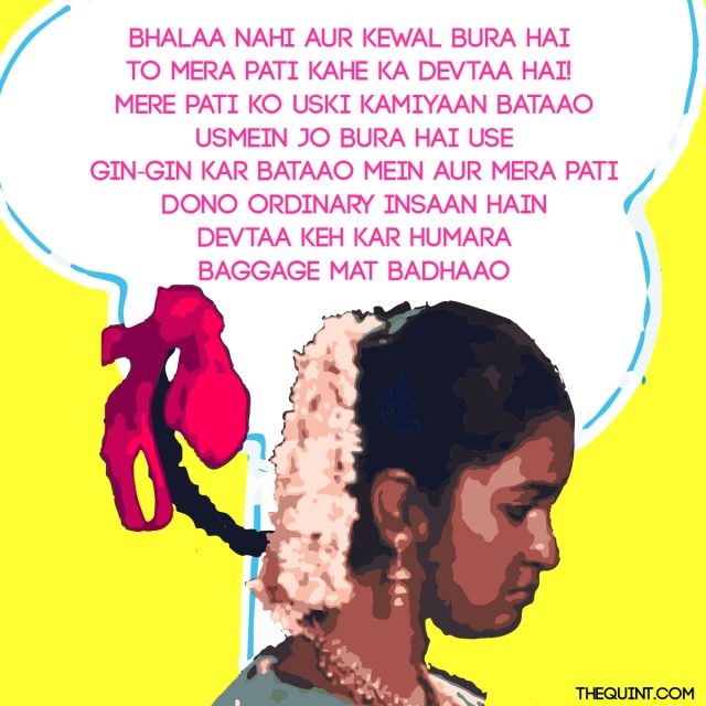<b>Rewritten Lyrics: </b>Parul Agrawal<b> </b>(Photo: <b>The Quint</b>/Harsh Sahani)