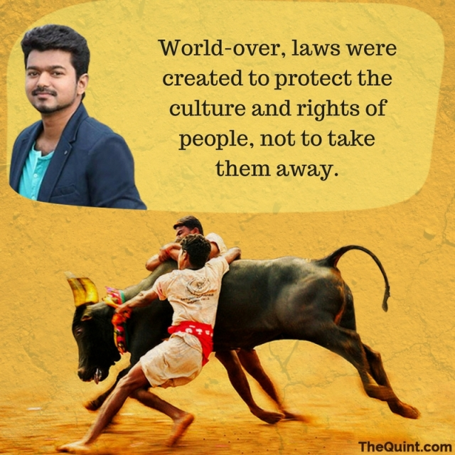 Tamil film actor Vijay. (Photo: Harsh Sahani/<b>The Quint</b>)