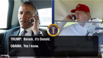 "Obama-Trump conversations. (Photo: <a href=""https://www.youtube.com/watch?v=w-iIYWvN5Kk"">YouTube </a>screenshot)"