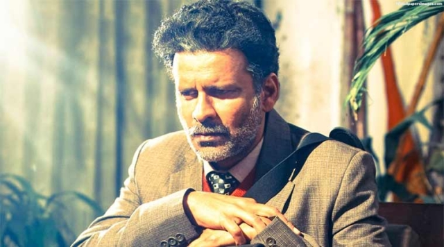 Manoj Bajpayee in a still from <i>Aligarh</i>.