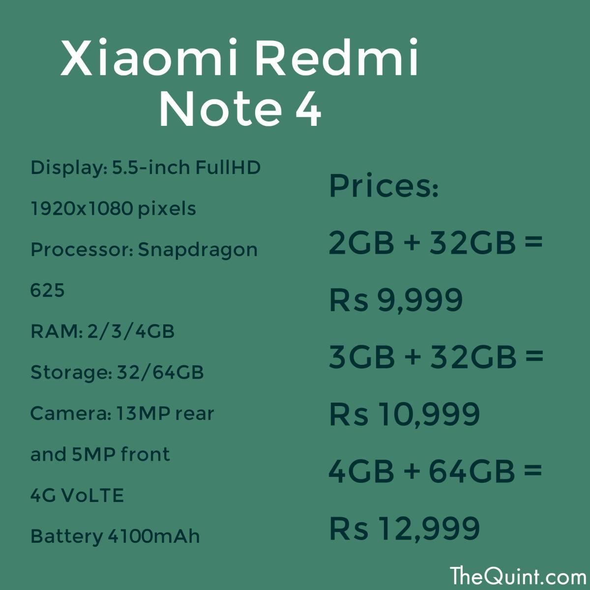 Power Punch: Xiaomi Redmi Note 4 Vs Lenovo K6 Power - The Quint