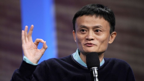 Alibaba founder Jack Ma in a file photo.