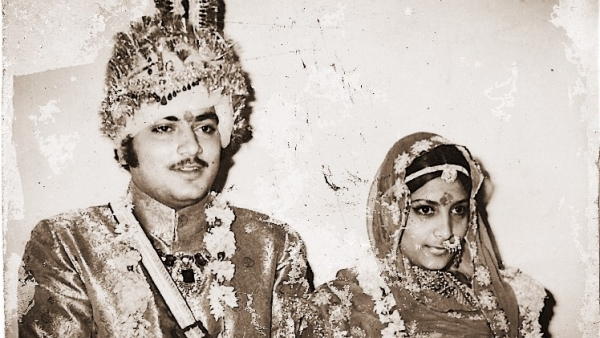 Rao Raja Hukam Singh and his wife Rajeshwari. (Photo courtesy: Khalid Mohamed)