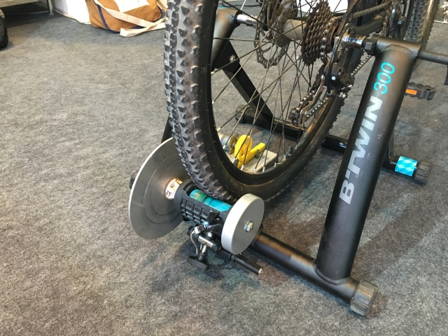 Give the bike's pedal a push and see what happens next. (Photo: <b>The Quint</b>)