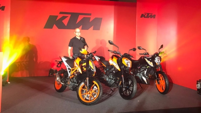 Duke series has been a hit for KTM in India.