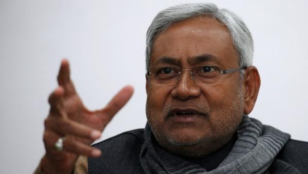 Bihar CM Nitish Kumar.