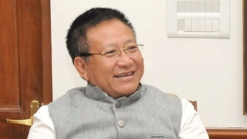 TR Zeliang, Chief Minister, Nagaland.