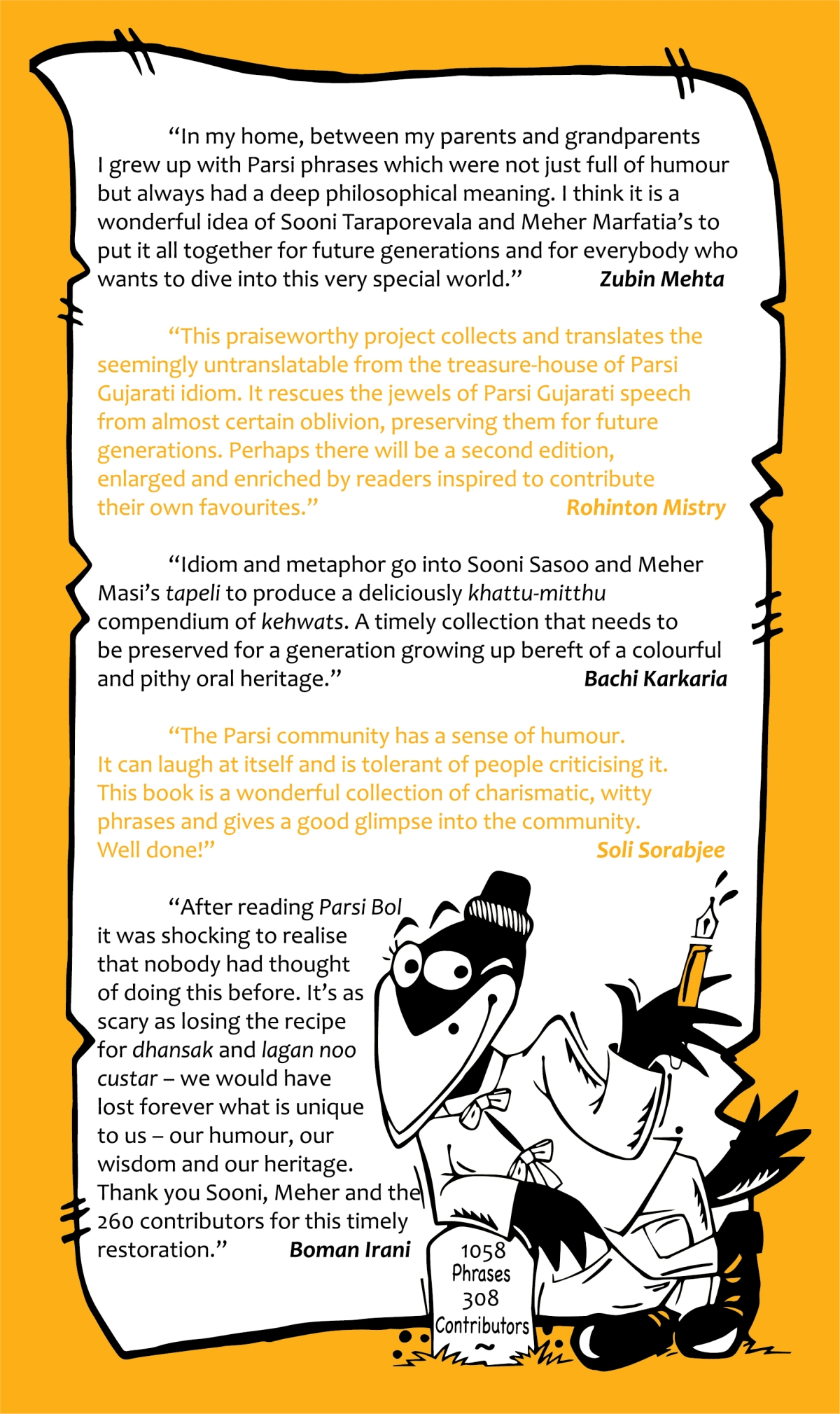 Review: A Wicked Wit Sums Up the Parsis (And This Book About