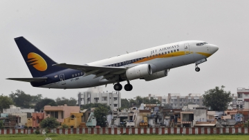 Jet Airways cancels overseas flights till Thursday as lenders refuse interim funding.