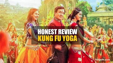 Movie Review: Kung Fu Yoga stars Jackie Chan, Sonu Sood, Disha Patani and Amyra Dastur (Photo altered by <b>The Quint</b>)