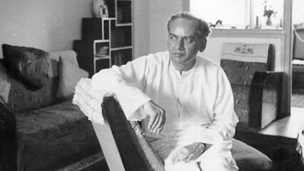 Faiz Ahmed Faiz in quiet contemplation.
