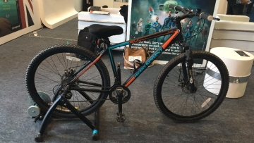 This is no ordinary bike. (Photo: <b>The Quint</b>)