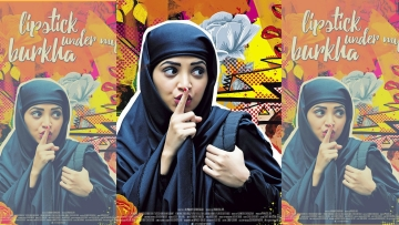 A poster of <i>Lipstick Under My Burkha. </i>(Photo courtesy: Facebook)