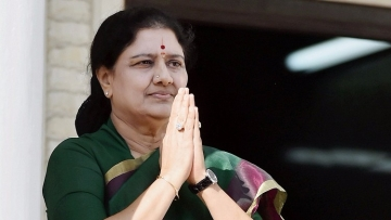 File photo of Ousted AIADMK general secretary VK Sasikala used for representational purposes.