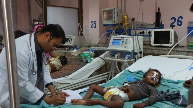 Every year, no less than 500-600 infants perish due to encephalitis. (Photo: <b>The Quint</b>/ Maanvi)