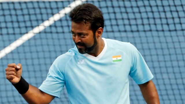 File picture of Leander Paes.