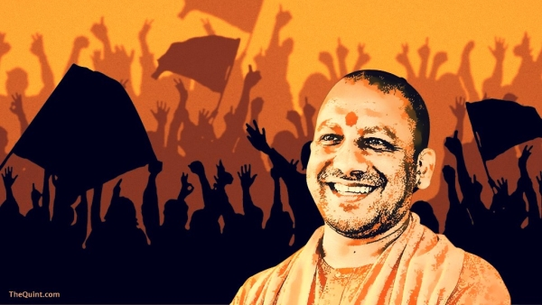 Uttar Pradesh Chief Minister Yogi Adityanath. (Photo: <b>The Quint</b>)