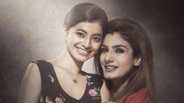 Raveena will be seen playing the mother of a rape victim in the film. (Photo courtesy: Twitter/RJAlok)