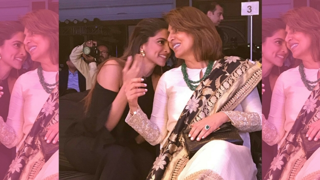 Ranbir's ex-girlfriend Deepika Padukone with Neetu Singh.