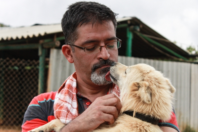 """It's only when we saw the condition these guys come in that we realised we had to do something more about it,"" says Shukla. (Photo Courtesy: Voice of Stray Dogs)"