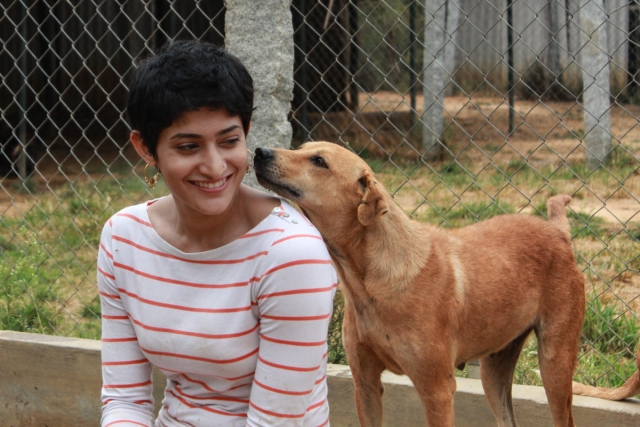 Badminton player Ashwini Ponnappa at VOSD. (Photo Courtesy: Voice of Stray Dogs)