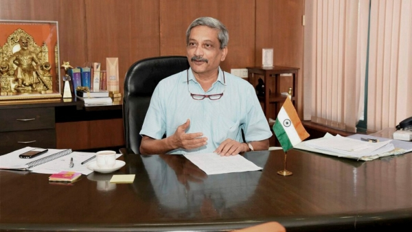 Manohar Parrikar sailed through the floor test with 22 votes in Goa Assembly. (Photo: PTI)