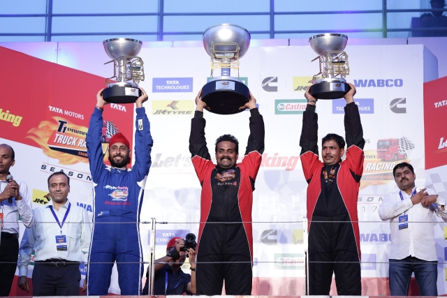 The Winners of T1 Prima Truck Racing Champions Class. (Photo: <b>The Quint</b>)