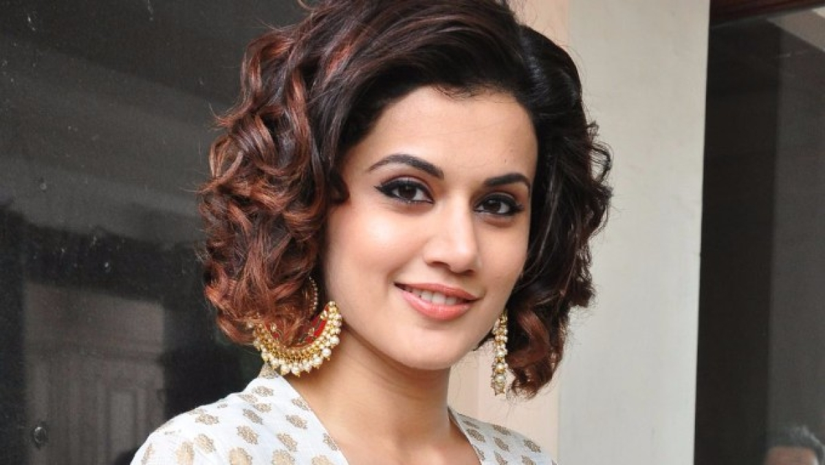 Actor Taapsee Pannu.