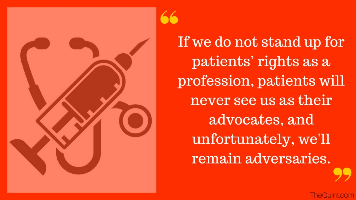 Image result for standing up for patient's rights