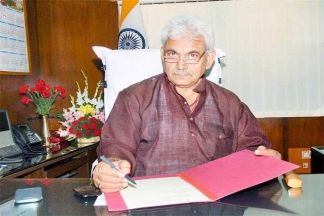Manoj Sinha, Leader, BJP. (Photo: PTI)