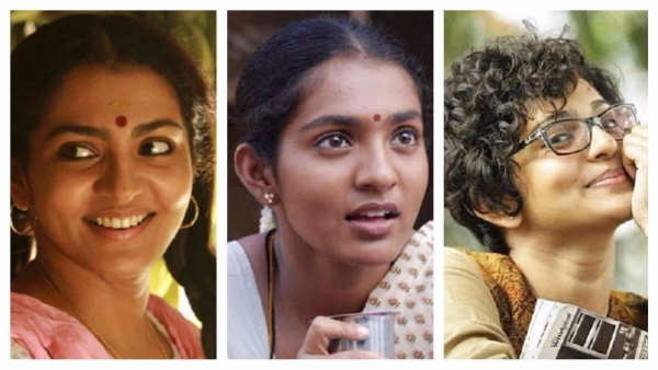 Parvathy in her different avatars.