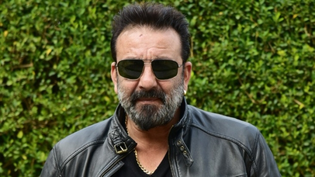 Sanjay Dutt at a  press conference held for the promotion of <i>Bhoomi</i>. (Photo: Yogen Shah)