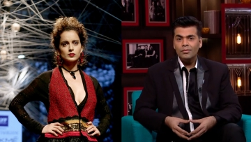 Are Kangana Ranaut and Karan Johar finally patching up? (Photo: Yogen Shah/ Hotstar)