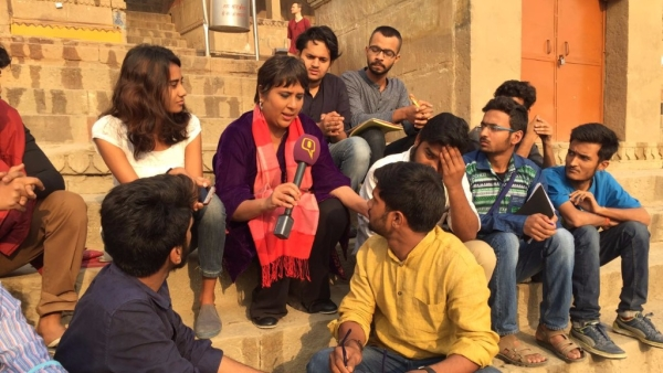 Free Speech, Gender Divide & 'Azadi': Barkha Talks to BHU Students