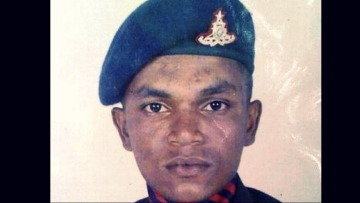 Lance Naik Roy Mathew. (Photo: <b>The Quint</b>)