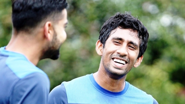 Wriddhiman Saha is India's fourth-highest run-scorer this home season. (Photo: AP)